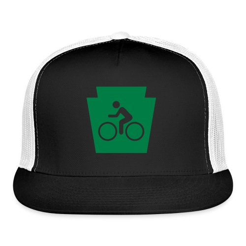 PA Keystone w/Bike (bicycle) - Trucker Cap