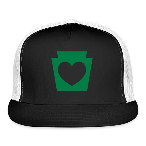Love/Heart PA Keystone - Trucker Cap