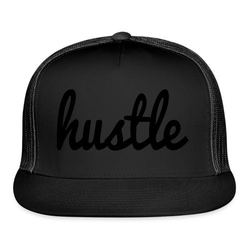 hustle vector - Trucker Cap