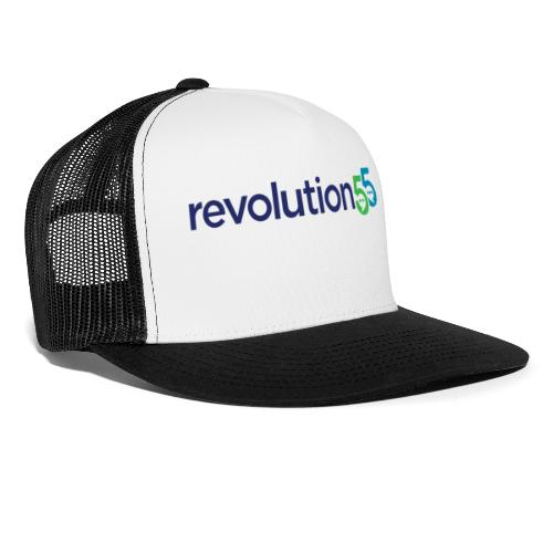 Revolution55 Logo - Trucker Cap