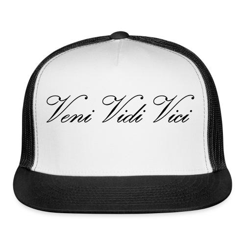 Zyzz Veni Vidi Vici Calli text - Trucker Cap