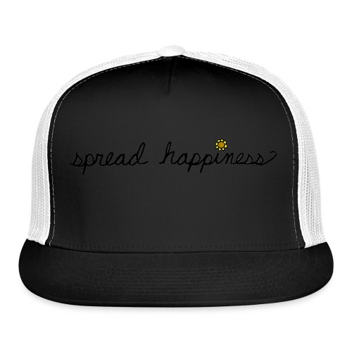 Spread Happiness Women's T-shirt - Trucker Cap