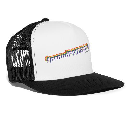 #proudpride2019 white - Trucker Cap