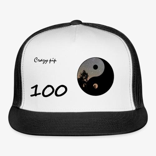 crazy pip hat 100 subs - Trucker Cap