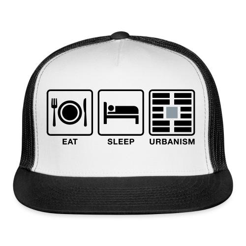 Eat Sleep Urb big fork-LG - Trucker Cap