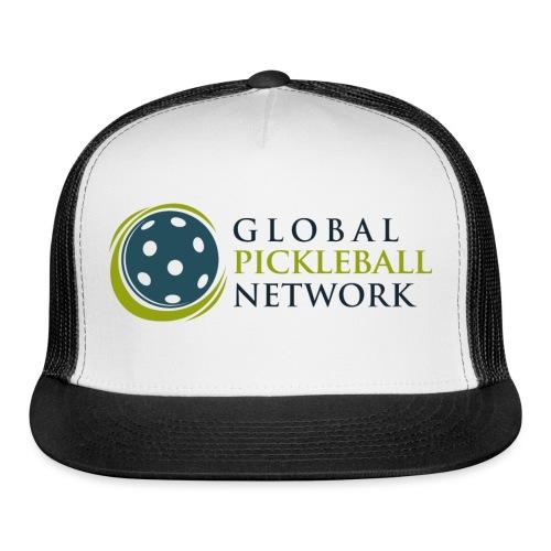 Global Pickleball Network on White - Trucker Cap