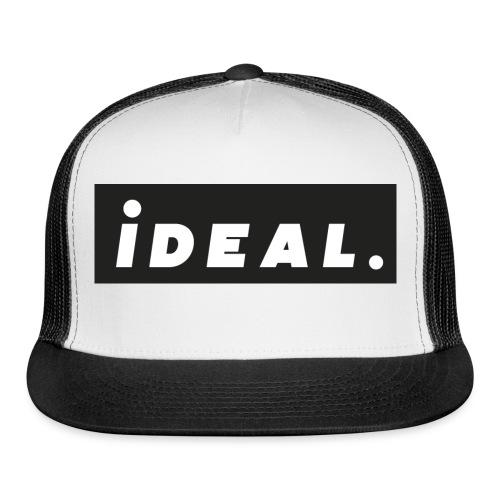 black ideal classic logo - Trucker Cap