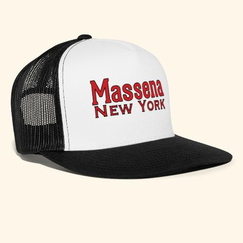 Massena New York - Trucker Cap