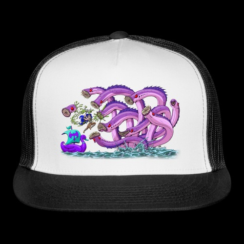Axel The Mighty and the Lamprey Hydra - Trucker Cap