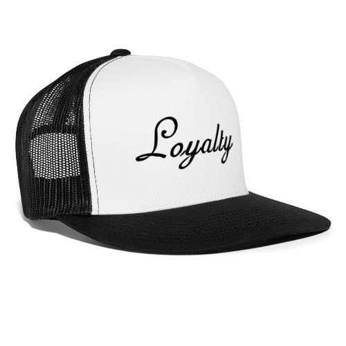 Loyalty Brand Items - Black Color - Trucker Cap