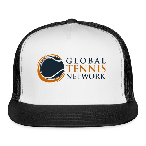 Global Tennis Network on White - Trucker Cap