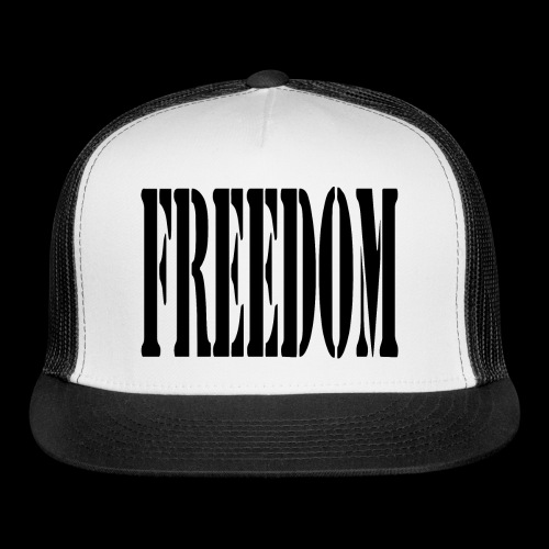 Freedom Logo - Trucker Cap