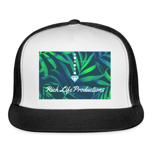 Rich Life Designer Wear - Trucker Cap