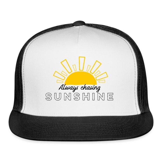Always Chasing Sunshine Cap