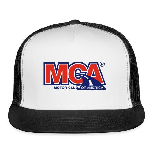 MCA_Logo_WBG_Transparent - Trucker Cap