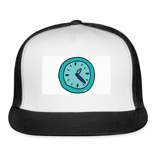 When the clock strikes: Caps, Men's hoodie and wom - Trucker Cap