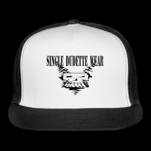 SDW Skull Big Dudette - Trucker Cap