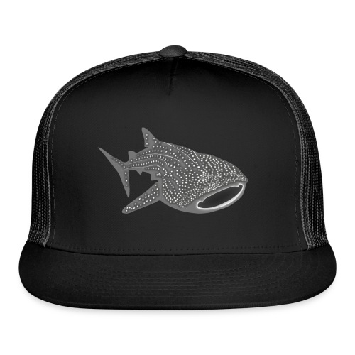 save the whale shark sharks fish dive diver diving - Trucker Cap