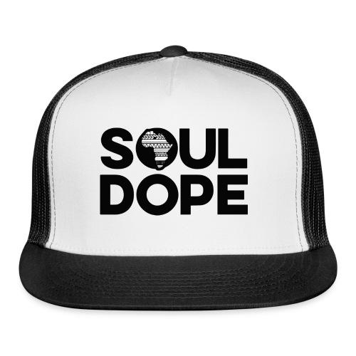 souldope Black Logo - Trucker Cap