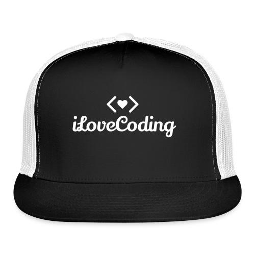 I Love Coding - Trucker Cap