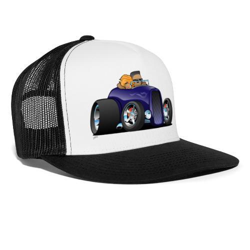 57004b4cab4dd8 Highboy hot rod deep purple roadster | Jeff Hobrath Art Studio