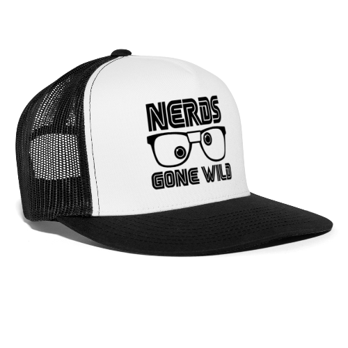 Nerds Black Logo - Trucker Cap