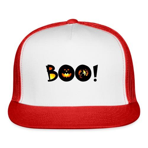 Happy Halloween Boo 1 - Trucker Cap