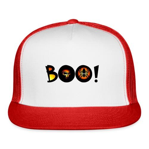 Happy Halloween Boo 4 - Trucker Cap