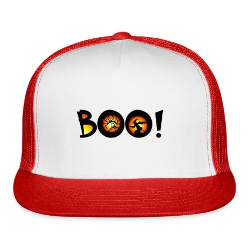 Happy Halloween Boo 7 - Trucker Cap