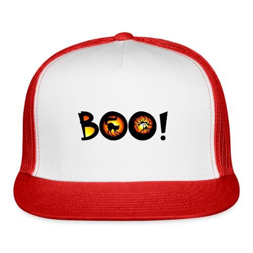 Happy Halloween Boo 3 - Trucker Cap