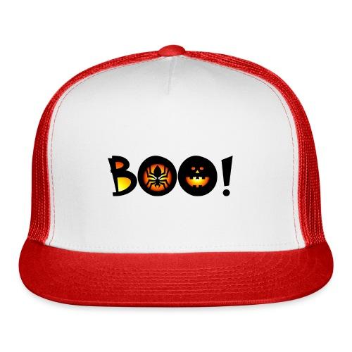 Happy Halloween Boo 6 - Trucker Cap