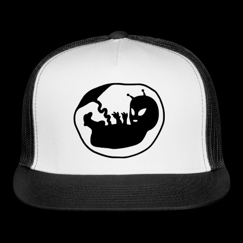 Alien Fetus by bmx3r - Trucker Cap