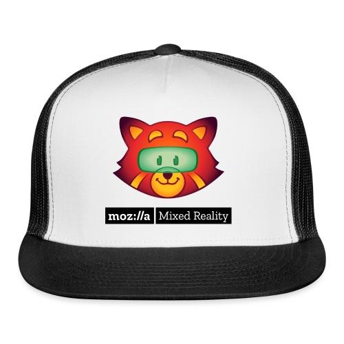 Foxr Head (black MR logo) - Trucker Cap