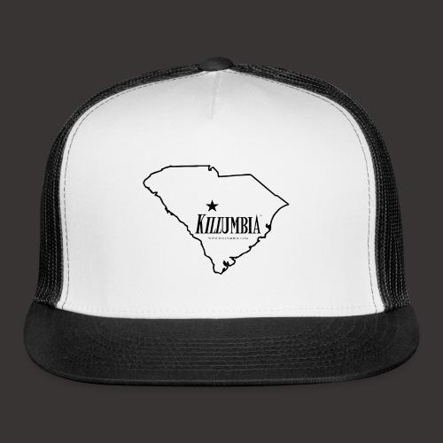 Killumbia Map (Black) - Trucker Cap