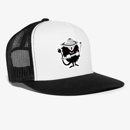 SAM the Hubcap Flipper - Trucker Cap