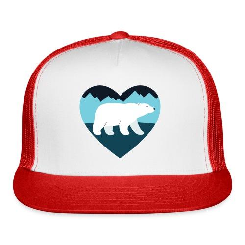 Polar Bear Love - Trucker Cap