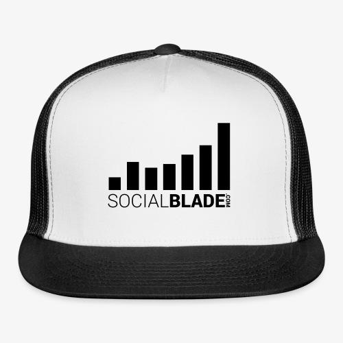 Socialblade (Dark) - Trucker Cap