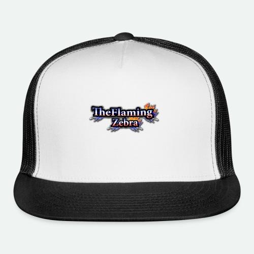 BIG TheFlamingZebra Logo - Trucker Cap