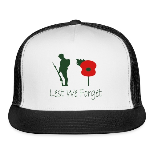 Lest We Forget - Trucker Cap