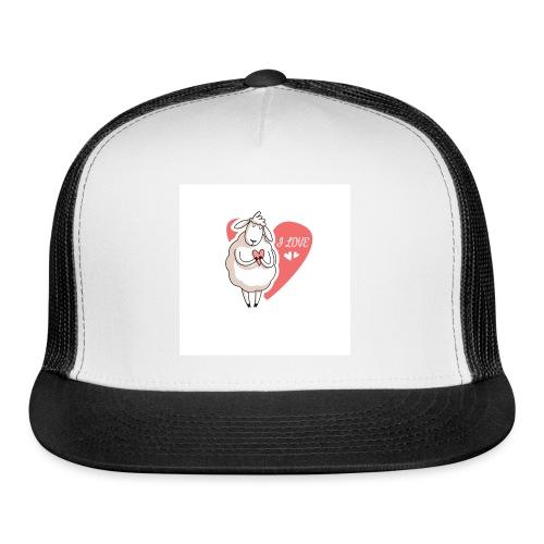 sheep love - Trucker Cap