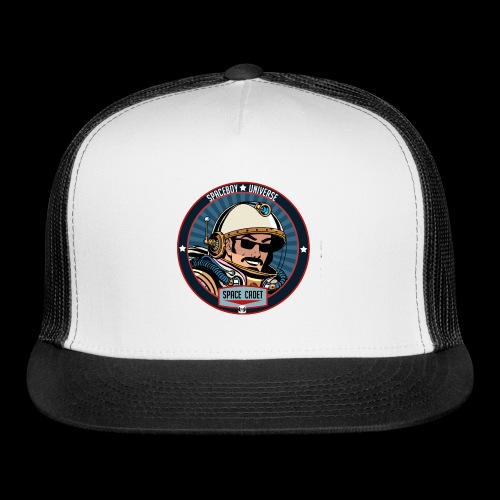 Spaceboy - Space Cadet Badge - Trucker Cap