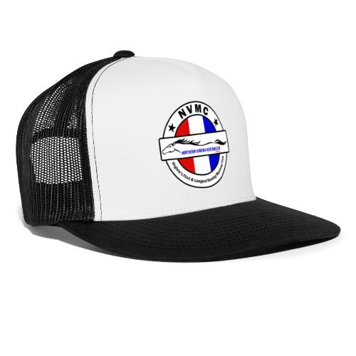 Circle logo on white with black border - Trucker Cap