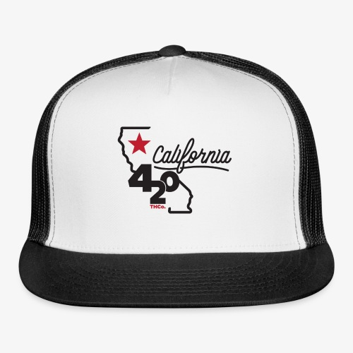 California 420 - Trucker Cap