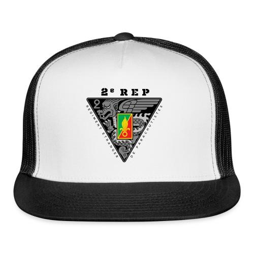 2e REP - Foreign Legion - Badge - Dark - Trucker Cap