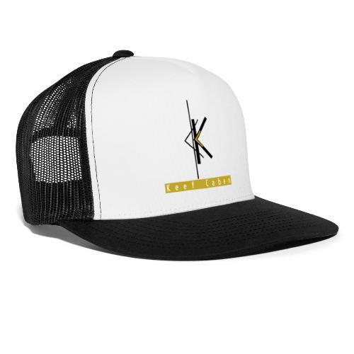 Keef Caben Logo plus name - Trucker Cap