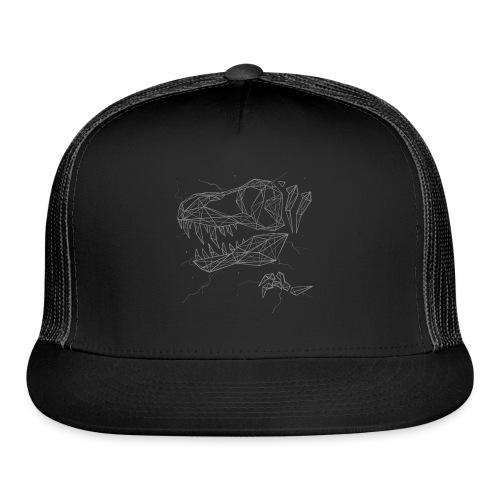 Jurassic Polygons by Beanie Draws - Trucker Cap