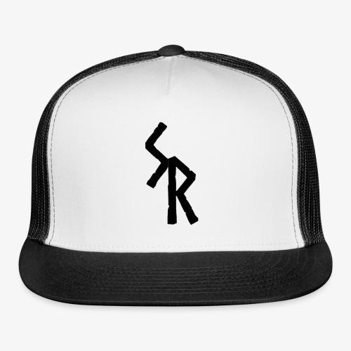Black SR Logo - Trucker Cap