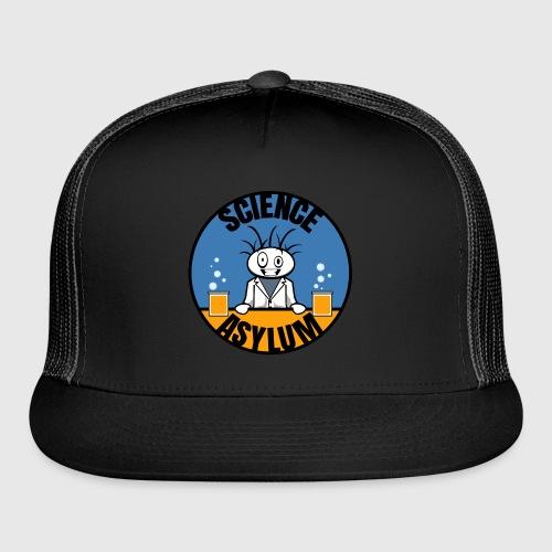 Science Asylum Logo - Trucker Cap