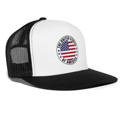 The United States of America - USA - Trucker Cap