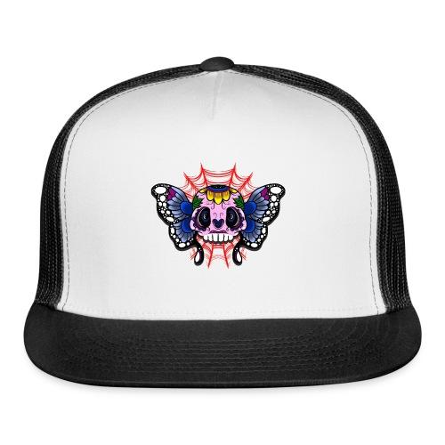 skull butterfly - Trucker Cap